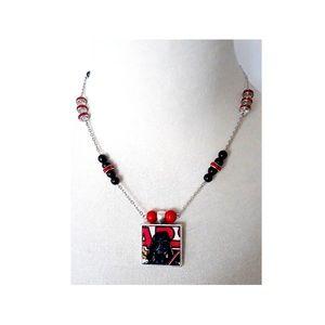 Vintage Darth Vader Star Wars Necklace